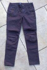 Filles GAP 7 ANS coupe skinny gris anthracite/marron jeans très bon état
