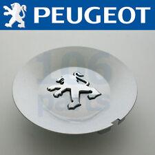 NEW PEUGEOT 807 ALLOY WHEEL SILVER CENTRE CAP 3-D LION 150mm DIAMETER