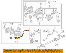 GM OEM Axle Differential-Rear-Pump 22765779