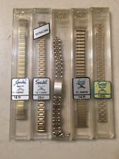 Speidel Watch Bands Lot Of 5 #2