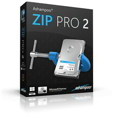 Ashampoo® ZIP Pro 2 deutsche Vollversion ESD Download 11,99 statt 29,99 EUR !!