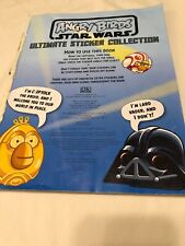 60-70%- 2013 Collection: Angry Birds Star Wars (ULTIMATE STICKER COLLECTIONS)