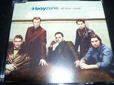 Boyzone / Ronan Keating All That I Need Australian CD Single – Like New
