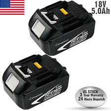 Enegitech 18V LXT 5.0Ah Lithium-Ion Replacement Battery for Makita BL1850 BL1830