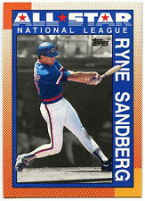 Ryne Sandberg  All Star National League #398 Topps 1990 Baseball Card (C246)