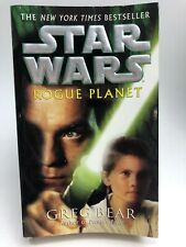 Star Wars Rogue Planet Greg Bear Del Rey 1St Printing Science Fiction