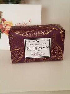 Beekman 1802 Fig Leaf Goat Milk Bar Soap  3.5 fl. oz.   Sealed