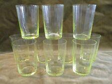 10 gobelets à vin verre ouraline 11cl