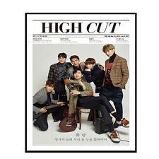 HIGH CUT VOL.188 Korean Magazine -tube case