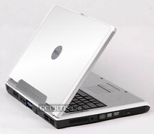 WHITE Vinyl Lid Skin Cover Decal fits Dell Inspiron 1501 E1505 6400 Laptop