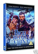 High Road to China [1983] (DVD)~~~~Tom Selleck, Bess Armstrong~~~~NEW & SEALED