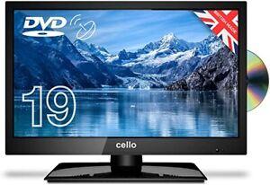 "CELLO 19"" inch 12v LED TV - DVD - FREEVIEW HD - HDMI, USB & VGA"