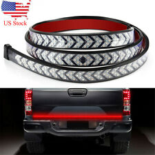 "Truck Tailgate Strip 40"" LED Sequential Turn Signal Brake Tail Reverse Light Bar"