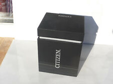 Citizen watch box black used rare empty