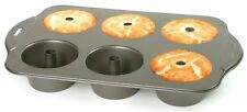 Norpro 3975 Nonstick 6 Cup Mini Angel Food Bundt Cake Kitchen Baking Bake Pan
