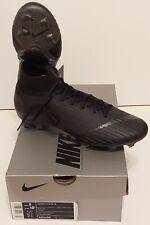 Nike Superfly 6 Elite FG Black Soccer Cleats AH7365-001 Men's Size 9