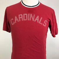 '47 BRAND ST LOUIS CARDINALS SPELL OUT MLB BASEBALL RED T SHIRT SZ M