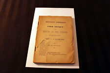 Antique book... MEDIUM John Brown: clairvoyance, LEAVE BODY, contact dead.. 1897