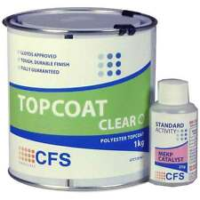 Clear Topcoat 1kg Pack