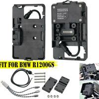 Phone Navigation Bracket Holder USB Charging ADV Accessories For BMW R1200GS