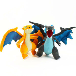 "12"" Mega Charizard X Y Dragon Plush Stuffed Doll Kids Gift"