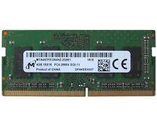 4GB (1x4GB) DDR4 PC4-21300 2666 MHz PC4-2666V Laptop SODIMM RAM Memory 260-Pin