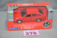Poland Welly Polonez Caro Plus 1:34 Diecast Model Red Colour Opening Doors Box