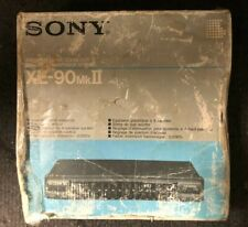 VINTAGE Sony Stereo Graphic Equalizer XE-90MK II Black NEW,OTHER