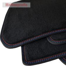 Tappetini professionisti velluto tappetini cucitura doppia per BMW 1er f20 5-türig ab Bj. 09/2011