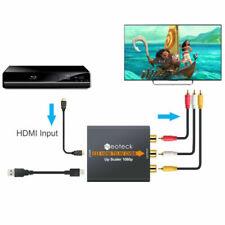 Cables y adaptadores de video convertidor para TV y Home Audio