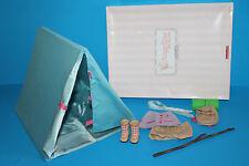 American Girl Angelina Ballerina Tent Camping Set in Original Box Complete
