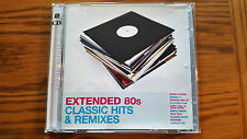 """EXTENDED 80S 80'S CLASSIC HITS & REMIXES 12"""" 12 INCH DOUBLE CD"""
