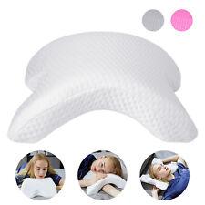 Memory Foam Contour Pillow Side Sleeper Tunnel Slow Rebound Pressure Arm Cuddle