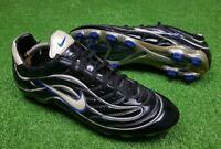 Vtg 1998 Nike Mercurial Vapor 1.0 R9 Boots Cleats US 9 Ronaldo Superfly Football