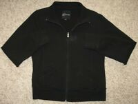 Guess Black Jacket Coat Solid Women's Extra Large XL Athletic Cotton Polyester