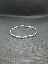 Magnetic bracelet ladies stainless finish