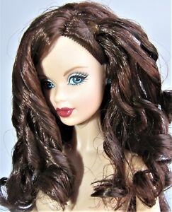 NUDE Barbie Mattel BIRTHSTONE BEAUTY TURQUOISE MODEL MUSE AUBURN CURLS FOR OOAK