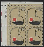 US Stamps - Scott # 1608 - Plate # Block - Mint Never Hinged             (E-218)
