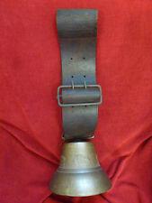cloche de vache en bronze VIGLINO CHAVORNAY SUISSE no OBERTINO
