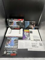 Super Nintendo SNES Demolition Man - EMPTY BOX WITH INSERTS AND POSTER - NO GAME