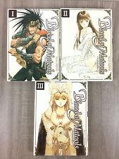 Blood of Matools Lot 3 Mangas Tomes 1 à 3 / 1 2 3  (manga) I II III