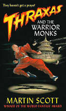 Thraxas and the Warrior Monks (The Thraxas Novels)-ExLibrary