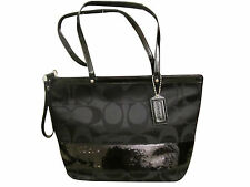 *NEW - COACH Black tote purse w Tags - WON'T FIND THIS PRICE IN STORES!!