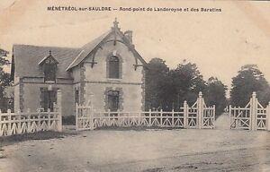 Ansichtskarte Frankreich  Menetreol sur Sauldre   Round point de Landerpyne et d