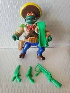 TMNT Wacky Wild West Bandito Bashin Mike 1992 Near Complete Michaelangelo