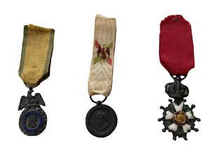Réductions Médailles Militaires Napoléon III Légion d'Honneur Expédition Mexique