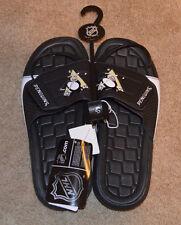 Pittsburgh Penguins Mens Small Sandalls NHL NEW Size 7/8
