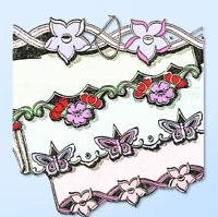 1930s Original Vintage Alice Brooks Embroidery Transfer 6364 Uncut Cutwork Pcase