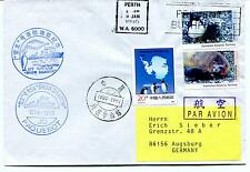 1995 RSV Snow Dragon China PAQUEBOT Perth Polar Antarctic Cover
