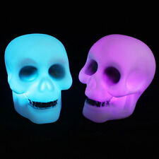 Skull Color Changing LED Light Lamp Home Decoration Halloween Xmas Party Decor